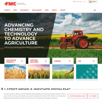 fmc in at Website Informer  FMC India  Visit FMC