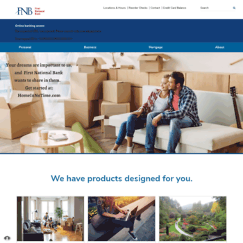 fnb-griffinonline com at WI  Home › First National Bank of