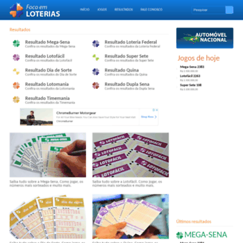 Focoemloterias.com.br thumbnail