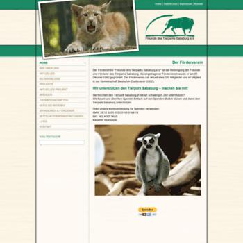 Foerderverein-tierpark-sababurg.de thumbnail