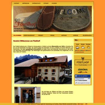 Foestlhof.it thumbnail