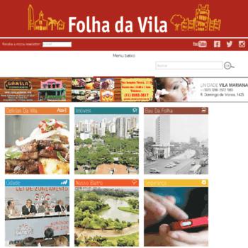 Folhadavila.com.br thumbnail
