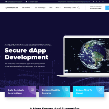 followmyvote com at WI  The Online Voting Platform of The
