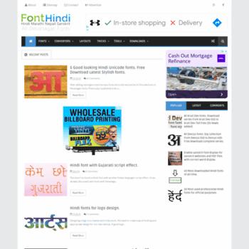 Fonthindi.blogspot.co.uk thumbnail