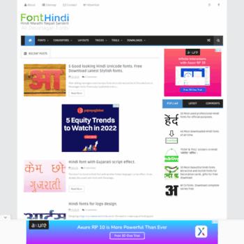 fonthindi blogspot in at WI  Beautiful Hindi Fonts