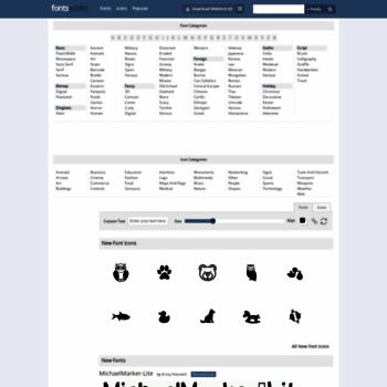 fontsaddict com at WI  FontsAddict - Download fonts and web