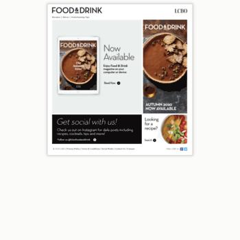 Foodanddrink.ca thumbnail