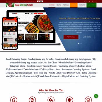 foodorderingscript com at WI  Grubhub clone, Just eat clone, Eat24