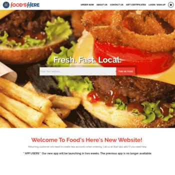 Foodsheretx.com thumbnail