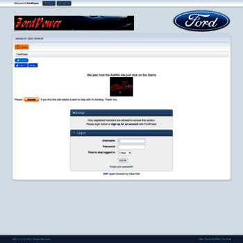 Fordpower.org.uk thumbnail