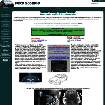 Fordscorpio.co.uk thumbnail