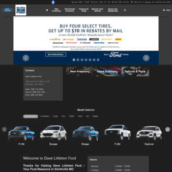 Dave Littleton Ford >> Fordville Net At Wi New Used Ford Models In Smithville