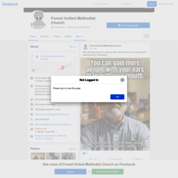 Forestunitedmethodist.org thumbnail