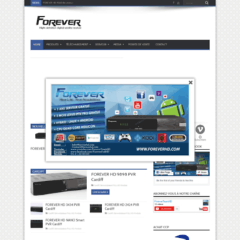 foreverhd com at WI  FOREVER HD : High Definition Digital Satellite