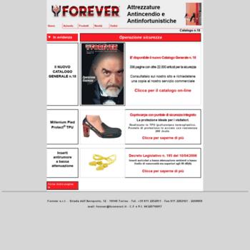 Foreversrl.it thumbnail