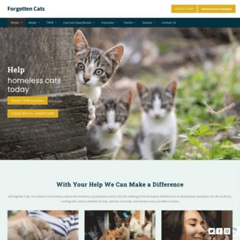 Forgottencats.org thumbnail