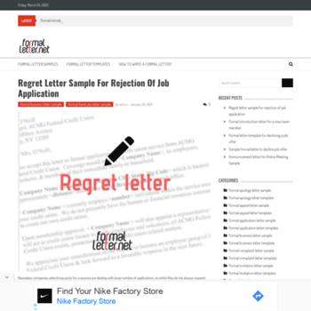 Formalletter.net thumbnail