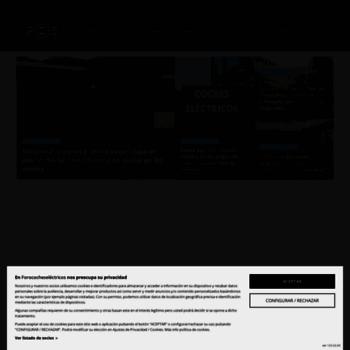 forococheselectricos | Espacio dedicado al mundo de los