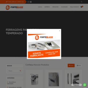 Forteglass.com.br thumbnail