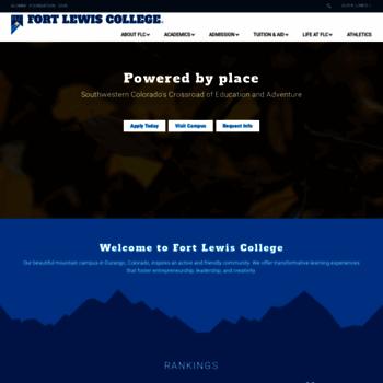 Fortlewis.edu thumbnail