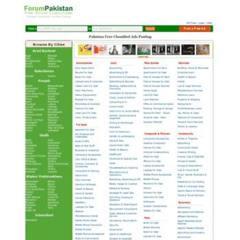forum-pakistan com at WI  Pakistan Free Classifieds Pakistan