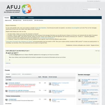 Forum.joomla.fr thumbnail