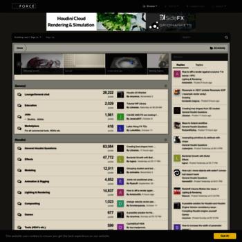 Forums.odforce.net thumbnail