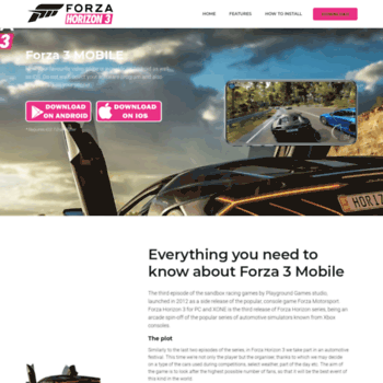 forzahorizon3mobile club at WI  Forza 3 Mobile - Download and Play