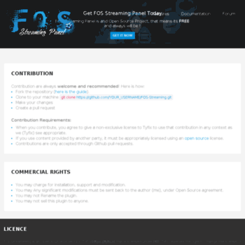 fos-streaming com at WI  FOS Streaming Panel :: The Open Source IPTV