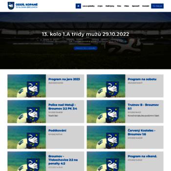 Fotbalbroumov.cz thumbnail