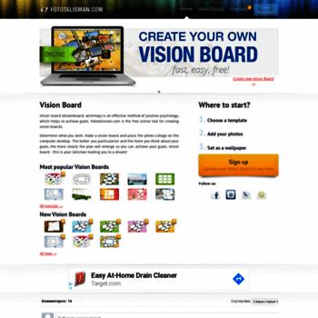 Fototalisman at wi vision board online free templates fototalisman thumbnail maxwellsz
