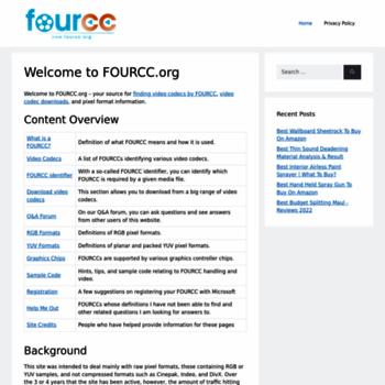 Fourcc.org thumbnail