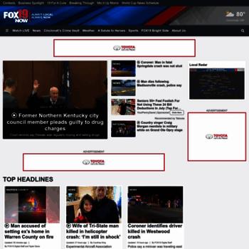 fox19 com at WI  Home - Cincinnati & N  KY news, weather