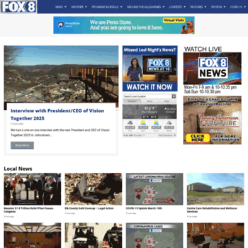 fox8tv com at WI  Fox 8 WWCP TV News, Sports and Weather