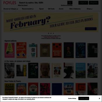 Foyles.co.uk thumbnail