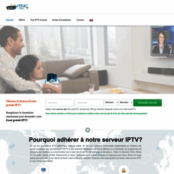fr myiptv tv at WI   : MyIPTV :  Serveur IPTV package mondiale - 24