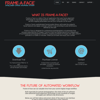 frameaface com at WI  Frame-A-Face | Facial Recognition