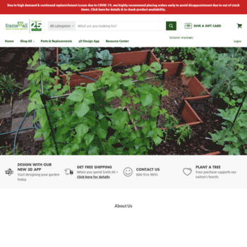 frameitall.com at WI. Frame It All | Raised Beds, Garden Borders ...