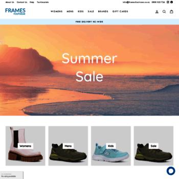 Framesfootwear.co.nz thumbnail
