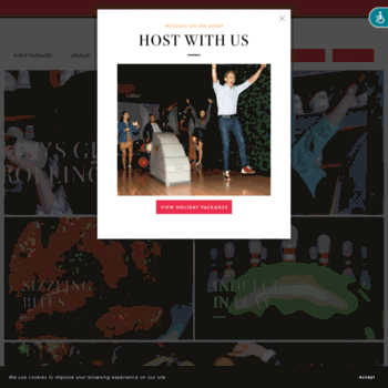 framesnyc.com at WI. Home - Frames Bowling Lounge