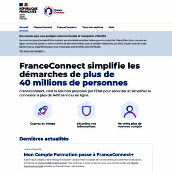 Franceconnect.gouv.fr thumbnail