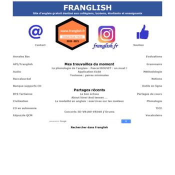 Franglish.fr thumbnail