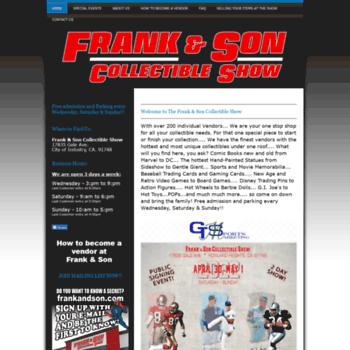 Frankandsonshow.net thumbnail