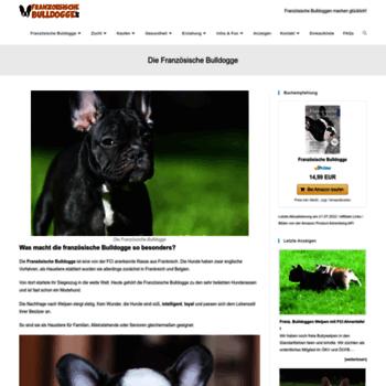 Franzoesischebulldogge.de thumbnail