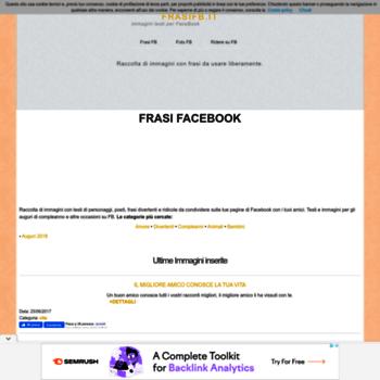 Frasifb It At Wi Frasi Facebook Immagini E Frasi Per
