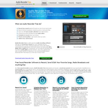 Free-audio-recorder.net thumbnail