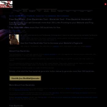 Free-backlinks.net thumbnail