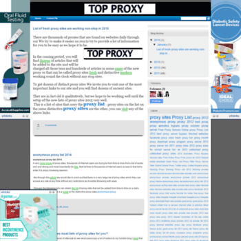free-proxylist1 blogspot com at WI  Free Proxy List - Proxy
