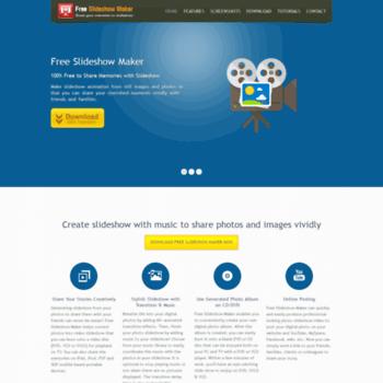 free-slideshow-maker com at WI  VisionGem Tech - Free Slideshow