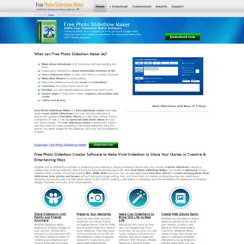 free-slideshow-maker net at WI  Free Photo Slideshow Maker